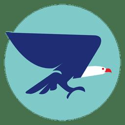 Adler rundes Symbol