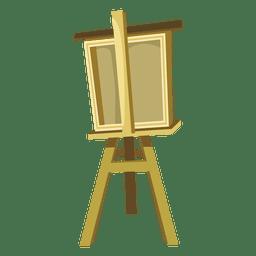 Desenhos animados de cavalete