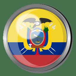 Ecuador divisa de la bandera