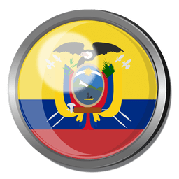 Ecuador flag badge