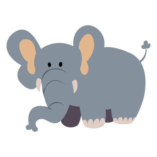 desenhos animados do elefante baixar png svg transparente