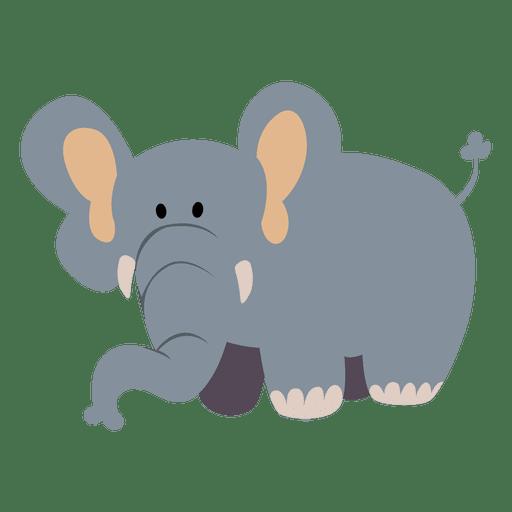 Elefant-Cartoon Transparent PNG