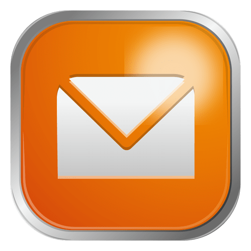 Ícone de envelope de e-mail 3 Transparent PNG