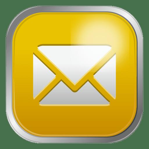 Ícone de envelope de e-mail 6 Transparent PNG