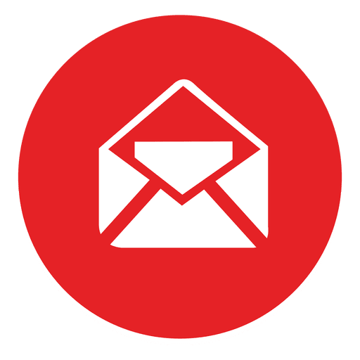 Ícone redondo de e-mail - Baixar PNG/SVG Transparente