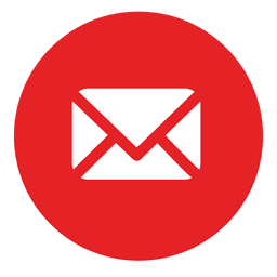 ícone redondo e-mail 1