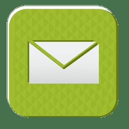 Email ícone de borracha