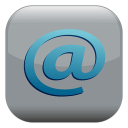 Email sign square button
