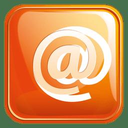 E-mail ícone quadrado 3