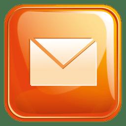 Ícone quadrado de e-mail 4