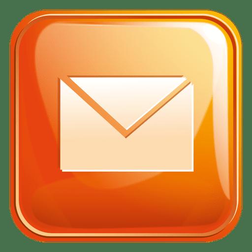Icono cuadrado de correo electrónico 4