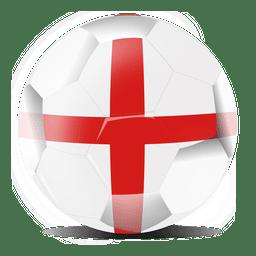 Inglaterra futebol de bandeira