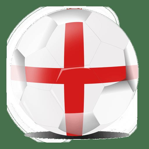 Fútbol de bandera de Inglaterra Transparent PNG