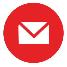 Envelope redondo ícone