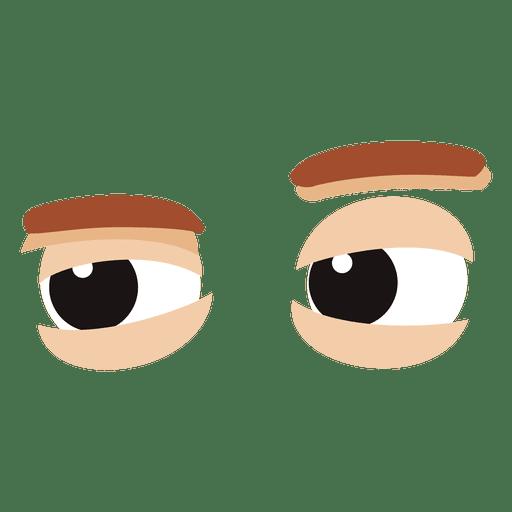 Eyes expression