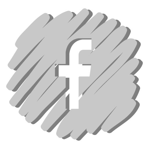 Facebook distorted icon Transparent PNG