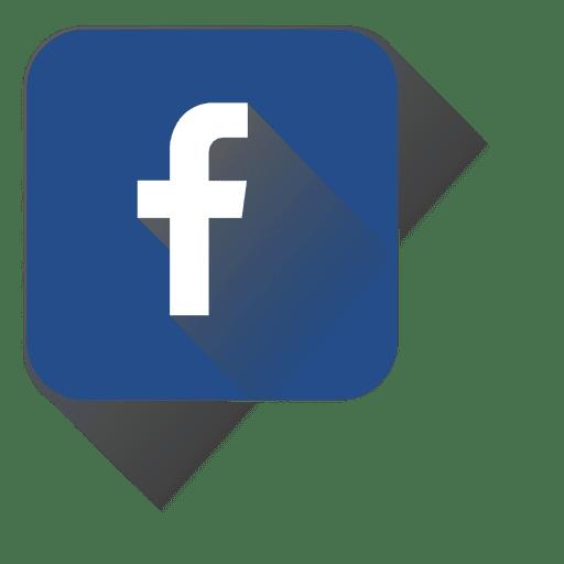 Icono cuadrado de facebook Transparent PNG