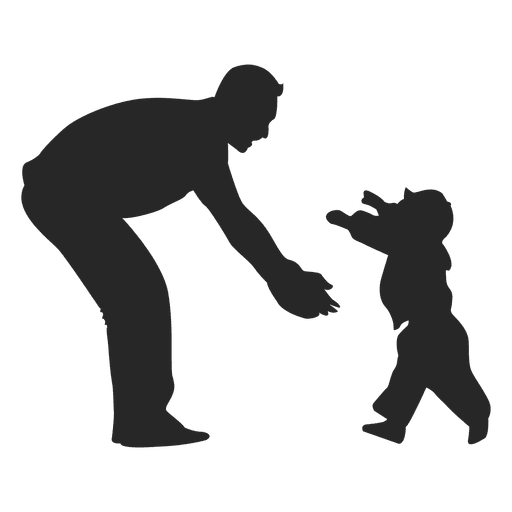 Father playing with child Transparent PNG