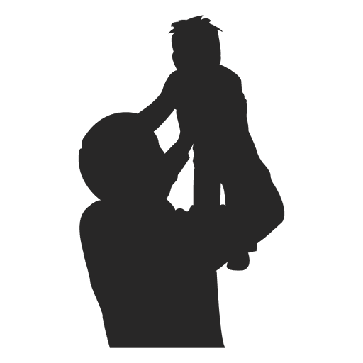 Padre criando al niño 1 Transparent PNG