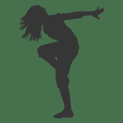 Female break dancer Transparent PNG