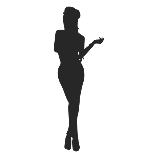 Female posing fashion 1 Transparent PNG