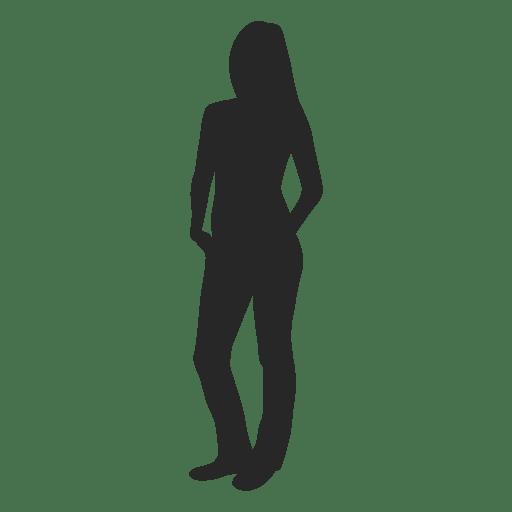 Female posing fashion 2 Transparent PNG