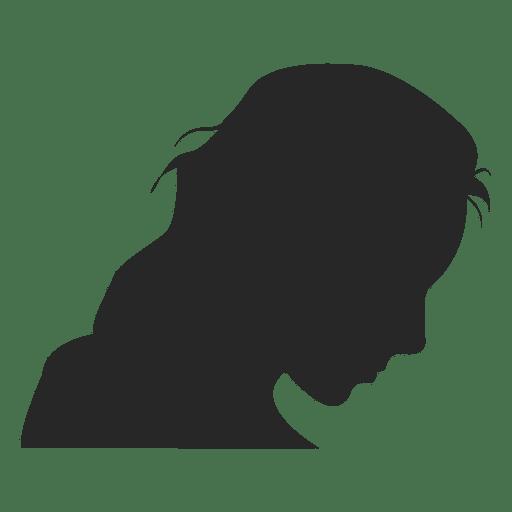 Female profile avatar Transparent PNG
