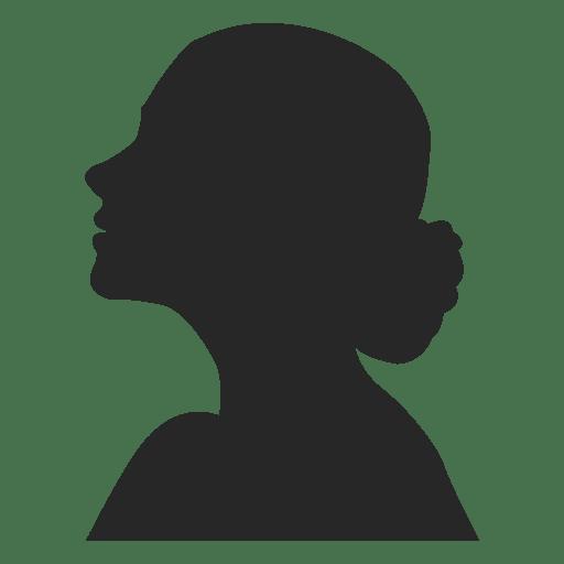 Female profile avatar 3 Transparent PNG