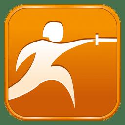 Fencing square icon