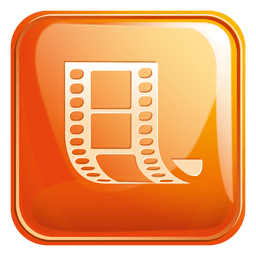 Filmstrip square icon 3