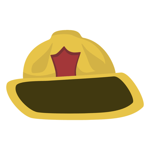 Fireman hat cartoon Transparent PNG