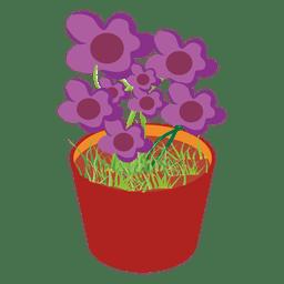 Tina de flores
