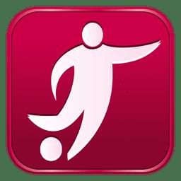 Football square icon