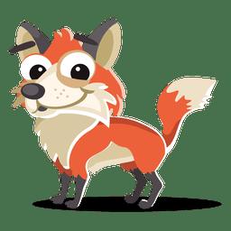 Dibujos animados de zorro