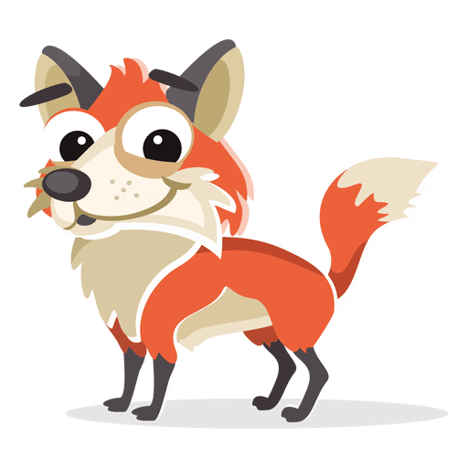 Desenho de raposa