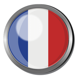 France flag badge