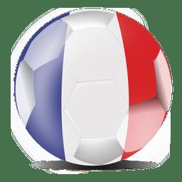 Frankreich Flagge Fußball