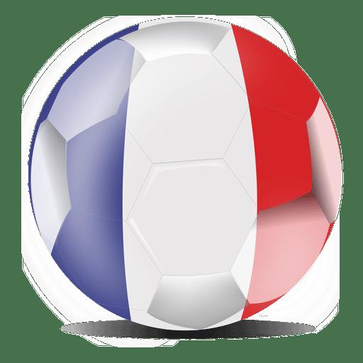 France Flag Football Transparent Png Svg Vector File