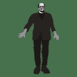 Desenho de Frankenstein 2