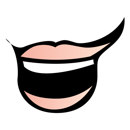 Boca de animal gracioso Transparent PNG