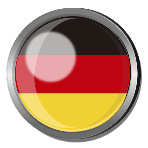 Germany flag badge Transparent PNG