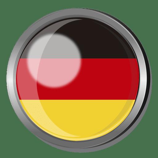 Insignia de la bandera de alemania Transparent PNG
