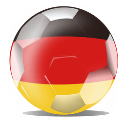 Futebol de bandeira da alemanha