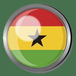 Ghana divisa de la bandera
