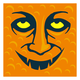 Arte de cara de fantasma