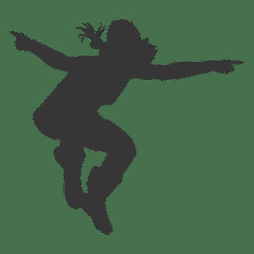 Girl break dancing Transparent PNG