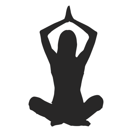 Niña hacer yoga