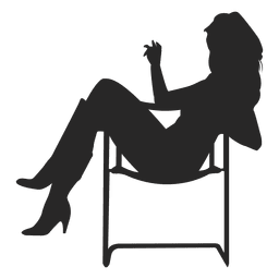 Girl sitting on chair