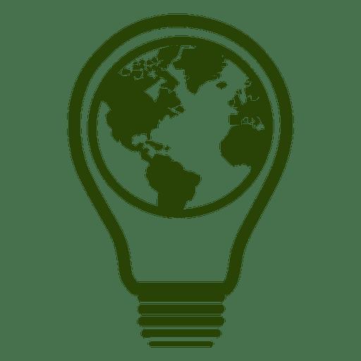 Icono de bombilla de globo 3 Transparent PNG