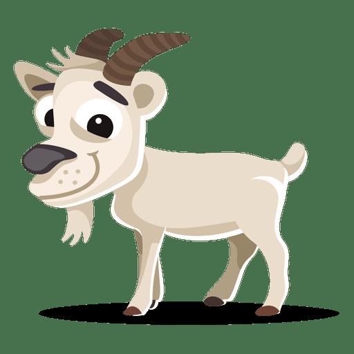 Dibujos animados de cabra